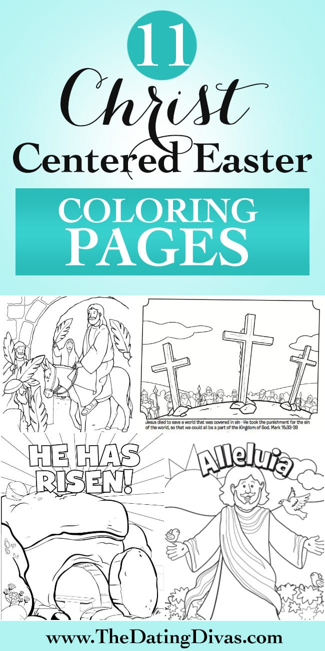 Christ Centered Easter Coloring Pages