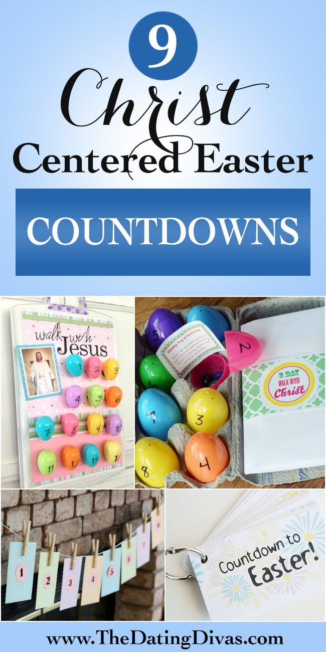Christ-Centered Easter Countdowns