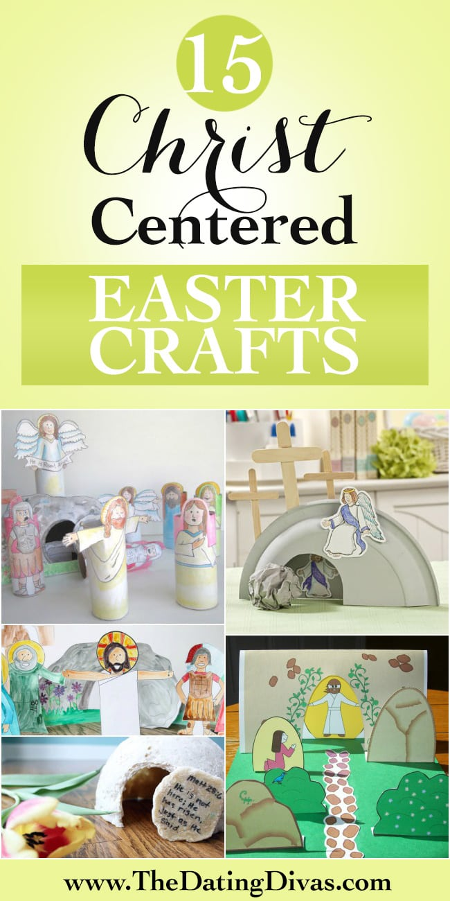 Christ Centered Easter Crafts - Fun ideas for the kids!