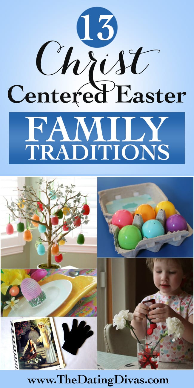Family Easter Traditions and Religious Easter Crafts