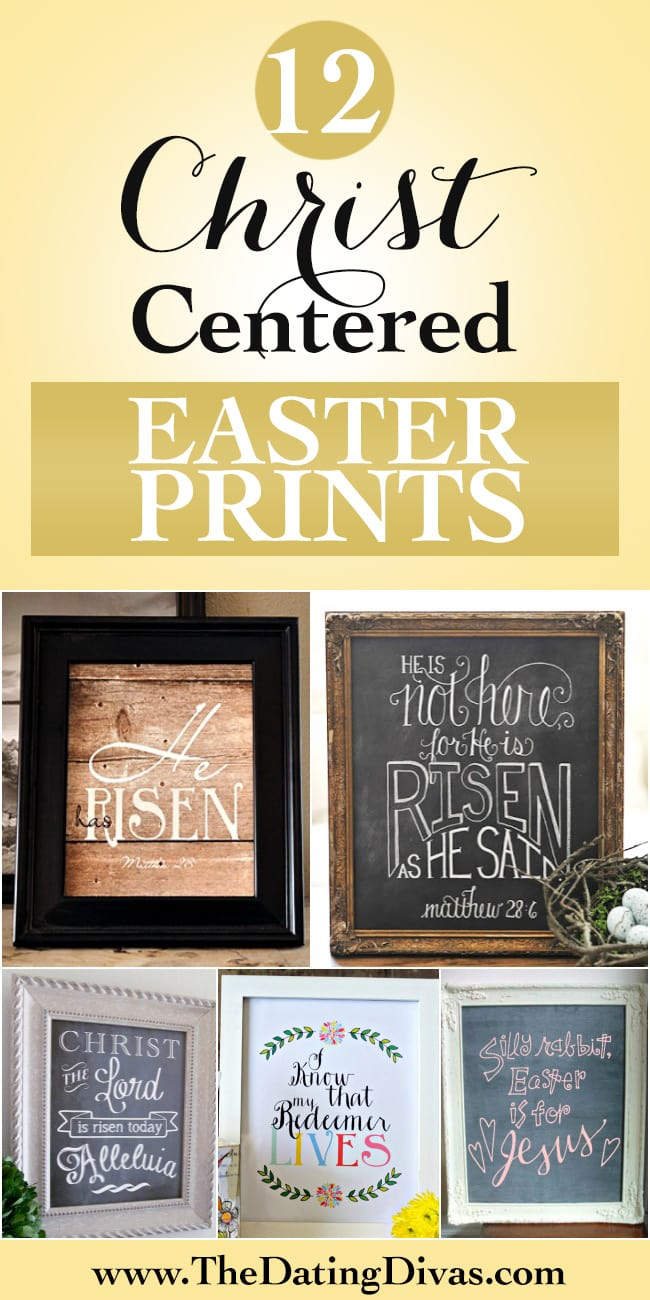 Christ-Centered Easter Prints