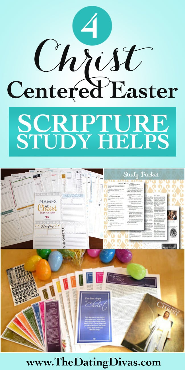 Christ Centered Easter Scripture Study Helps