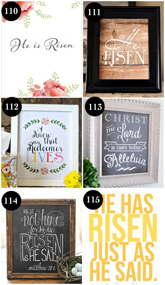 Christ-Centered Easter Wall Prints