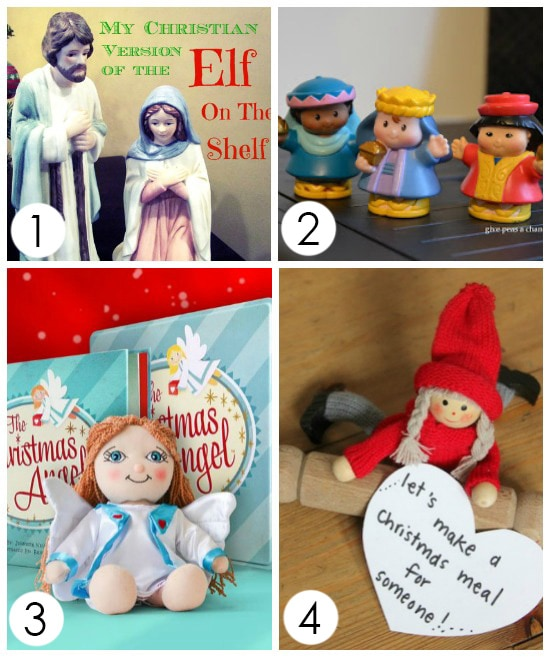 Christ-Centered Elf on the Shelf Alternatives