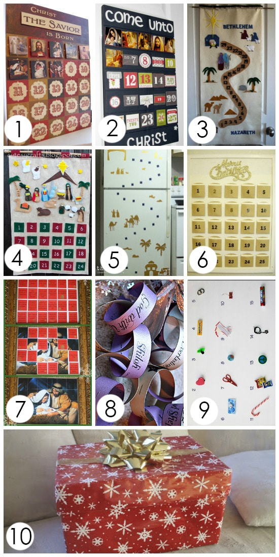 Christ-Centered Advent Calendars to help keep CHRIST in Christmas!