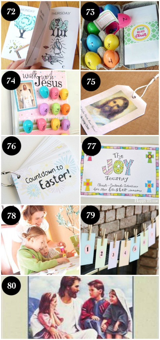 Christian Easter Countdowns