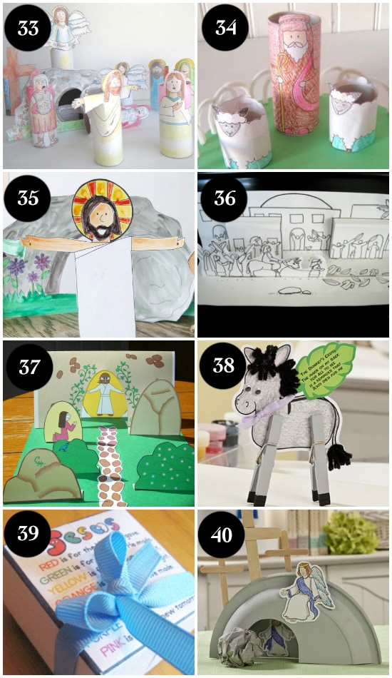 Religious Easter Crafts for Kids and Families