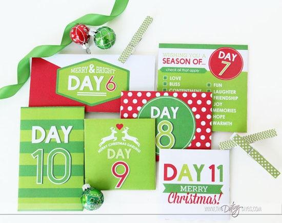 Christmas Advent Envelopes