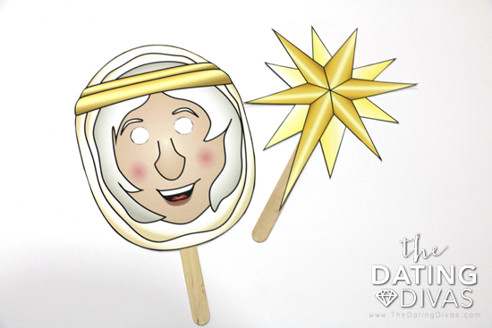 Christmas Angel Nativity Mask