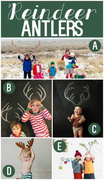 Christmas Card Photo Props and Ideas