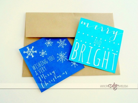 Christmas Cards with Envelope