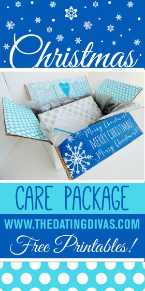 Christmas Care Package Printables The Dating Divas