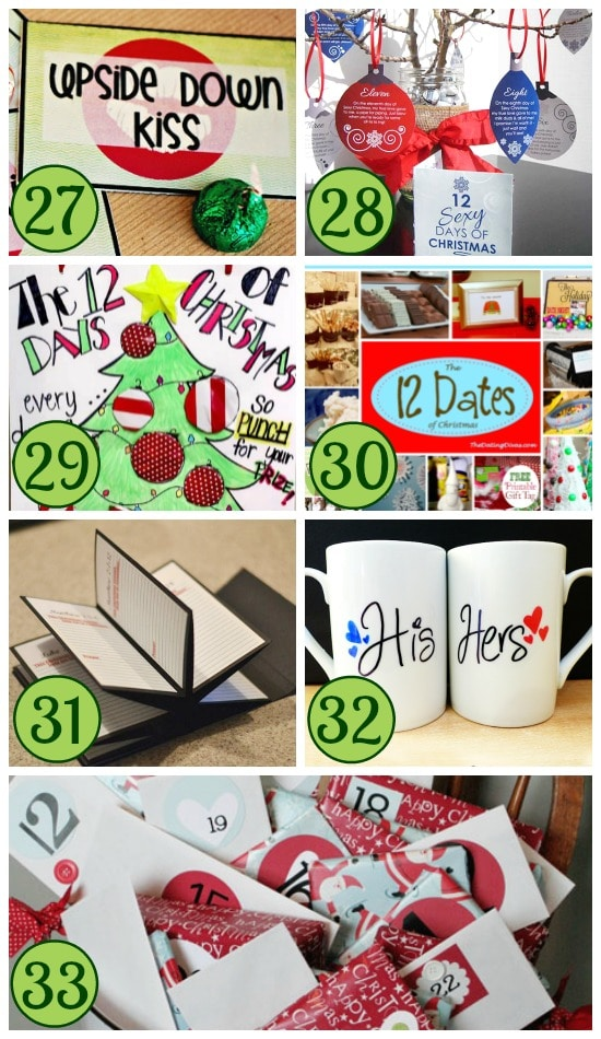 Christmas Countdown Traditions Collage