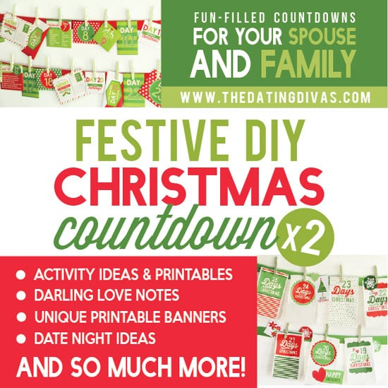 Christmas Countdowns Printable Pack Bundle