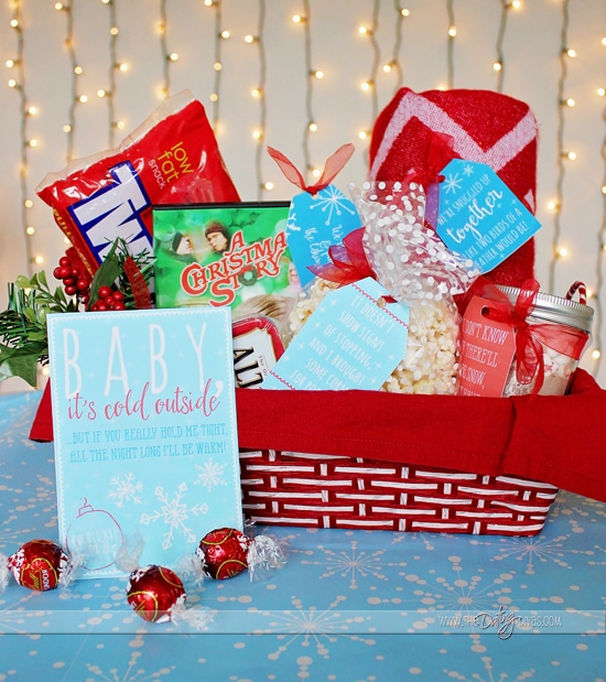 Diy Romantic Christmas Gifts: Christmas Cuddle Kit Date Night