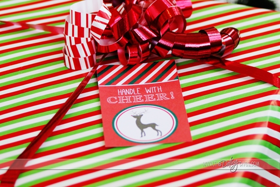 Christmas Eve Box Tags