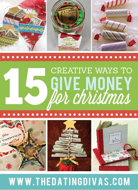 DIY Christmas Gifts - How to Give Cash