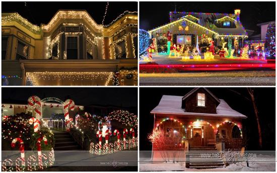 Christmas Light Date Night Award Winners