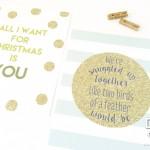 Christmas Love Lyric Prints