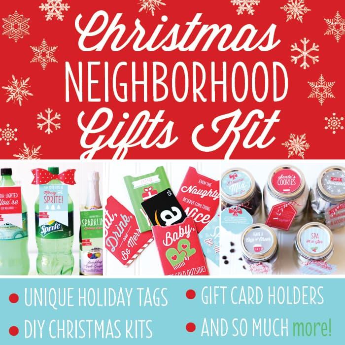 Christmas Neighbor Gifts Kit