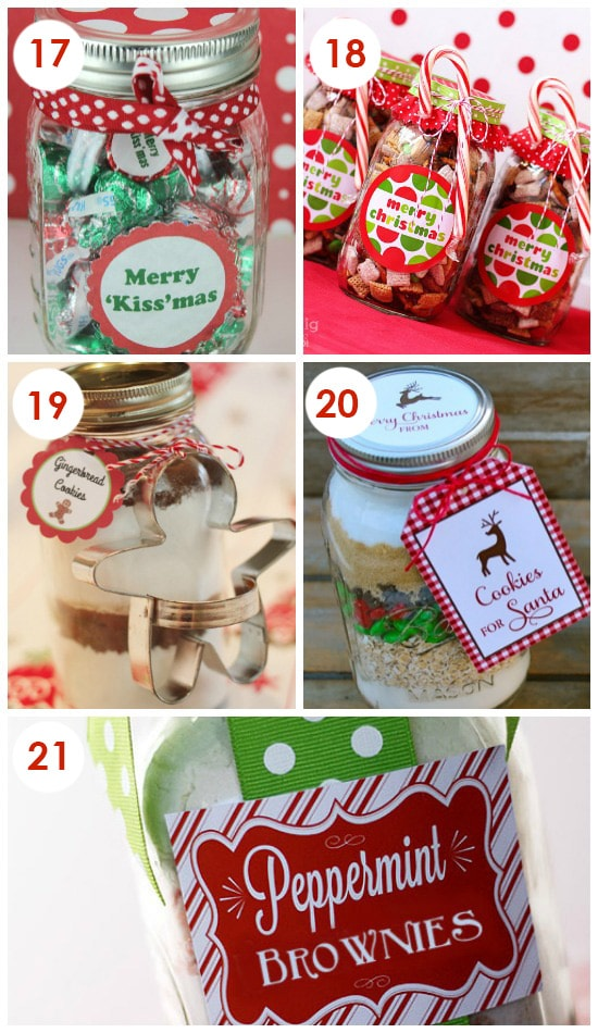Christmas Neighbor Jars