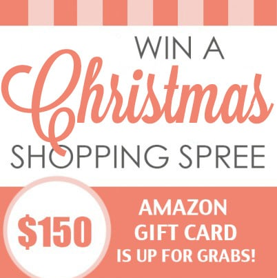 Christmas Shopping Spree Giveaway