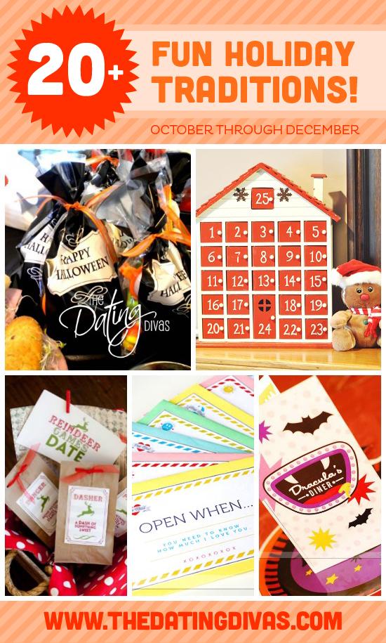 Christmas Thanksgiving Halloween Family Tradition Ideas