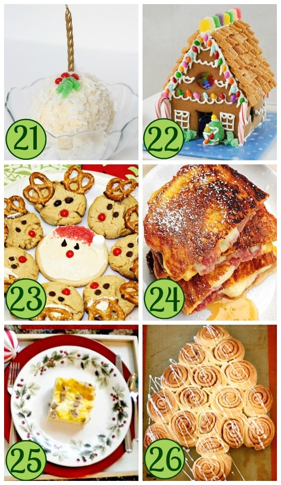 Christmas Treats Traditions Collage #2