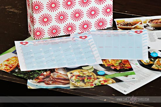 Chrysler Menu Planning Date