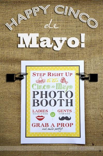 cinco de mayo photo booth