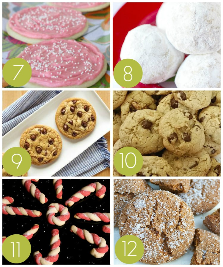 Traditional Cookie Recipes for an Exchange Party