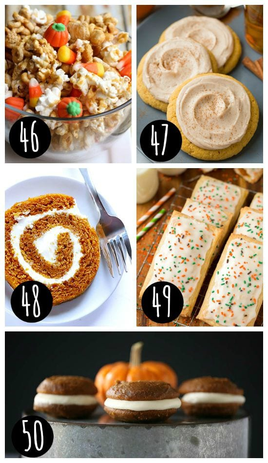Fall Recipes and Treats