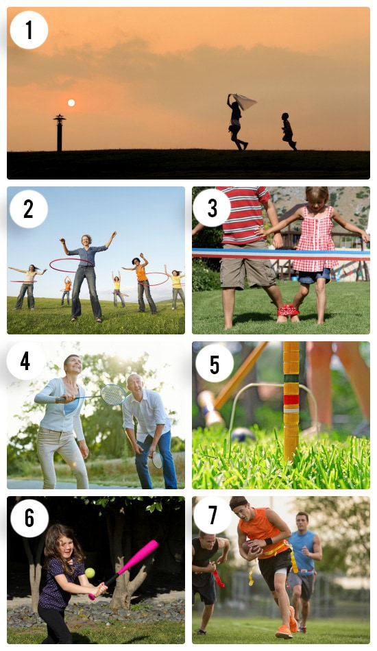 7 Classic Outdoor Games