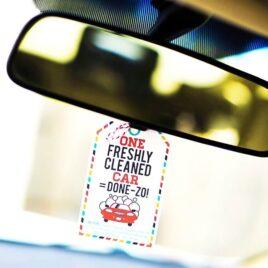 Surprise your spouse with a clean car!