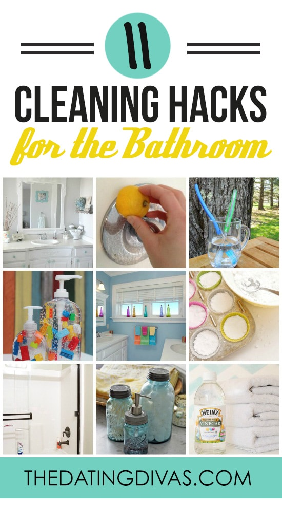 Cleaning Hacks for the Bathroom