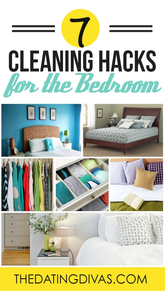 Cleaning Hacks for the Bedroom