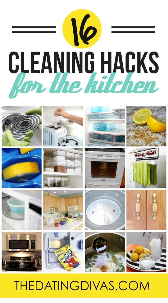 Cleaning Hacks for the Kitchen