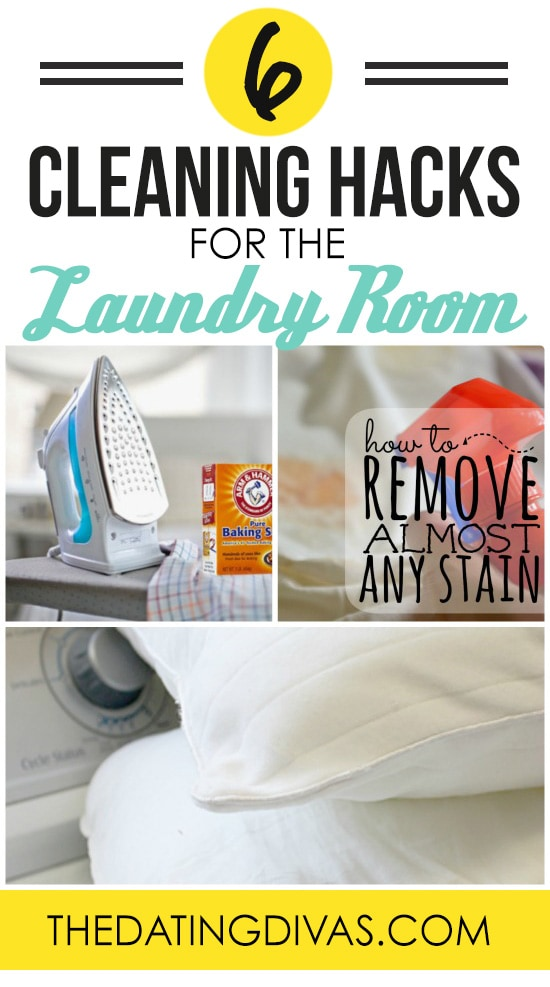 Cleaning Hacks for the Laundry Room