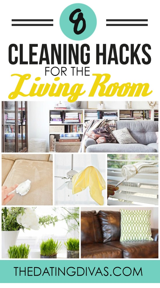 Cleaning Hacks for the Living Room