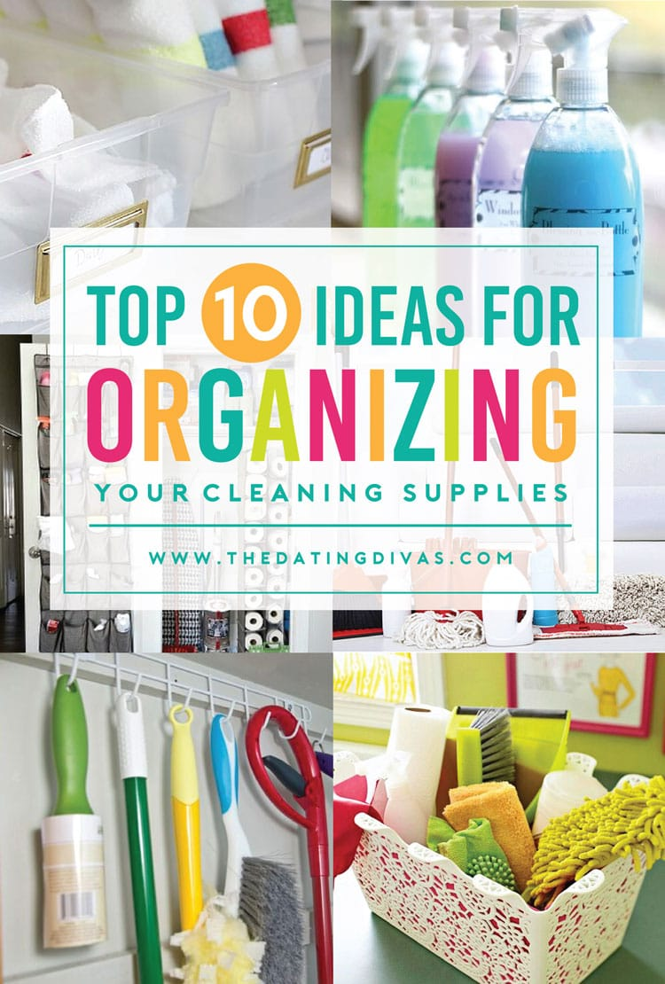 Get your cleaning supplies in order today!