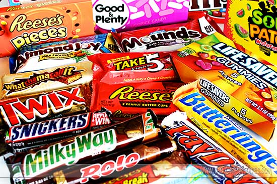 Candy Bars Clever candy sayings for {almost} every occasion!