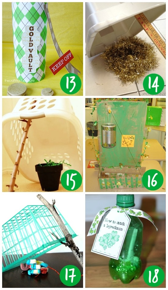 Clever and Easy Leprechaun Traps