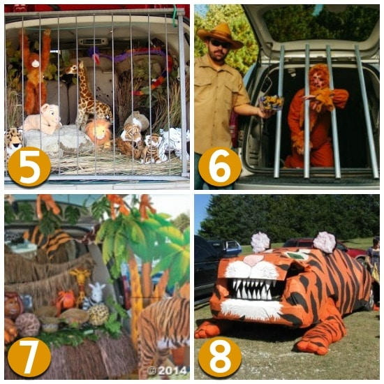Zoo Trunk or Treat Decorating