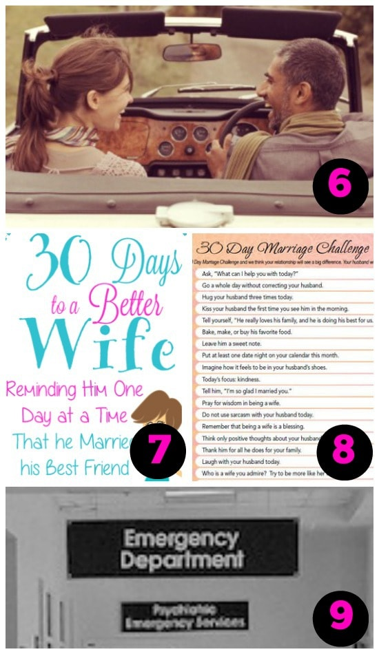 Collection of Love Challenges That Will Transform Your Attitude About Your Spouse