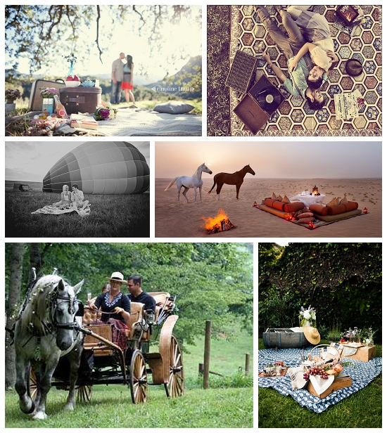 Collection of Romantic Picnic Date Ideas