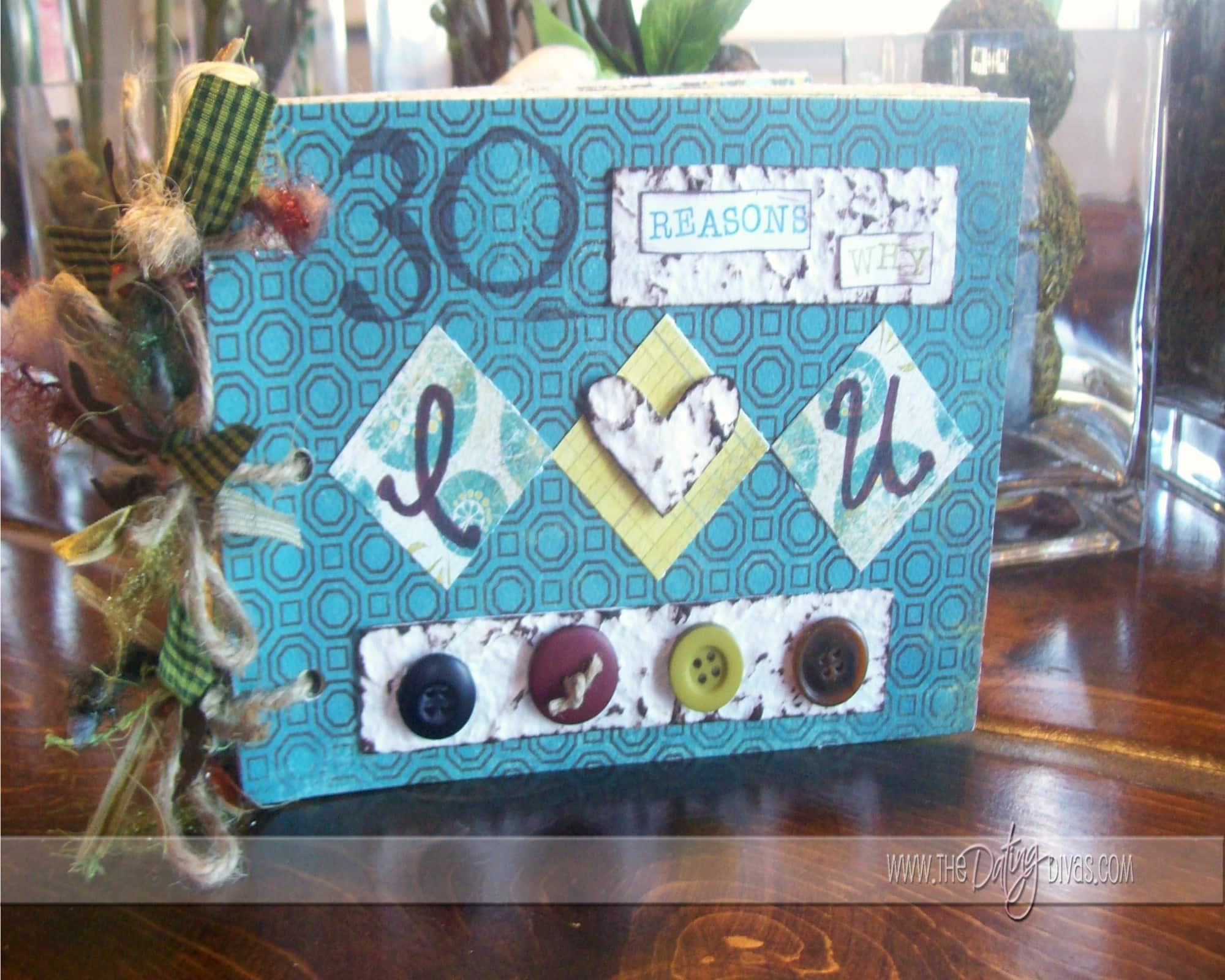 How to scrapbook a box - Alright