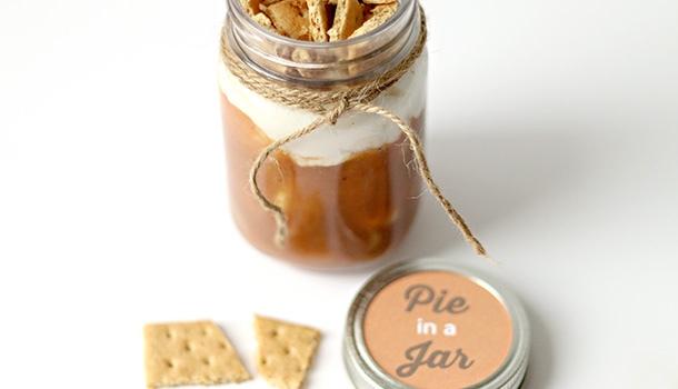 Corn Maze Date in a jar
