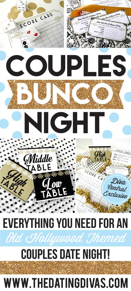 Couples Bunco Date Night