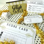 Couples Bunco Party Printables