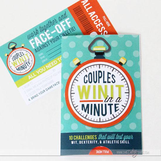 Couples Game Night Invitation
